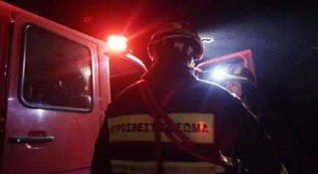 Φωτιά σε αποθήκες σε Συκούριο και Βαμβακού – Κάηκαν ζωντανά κατοικίδια