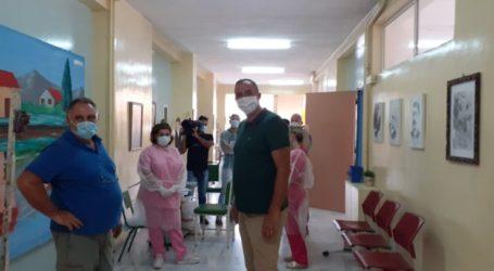 Μοριακά τεστ σε εκπαιδευτικούς του Αμπελώνα με έξοδα από την Δημοτική Αρχή Τυρνάβου