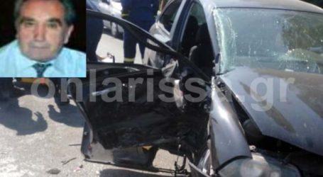 """Κατέληξε ένας άνδρας από το τροχαίο που έγινε χθες στην Λάρισας – Βόλου – Έχασε την """"μάχη"""" στο νοσοκομείο"""