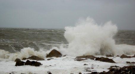 Λιμεναρχείο Βόλου: Έρχονται ισχυροί άνεμοι 7 μποφόρ