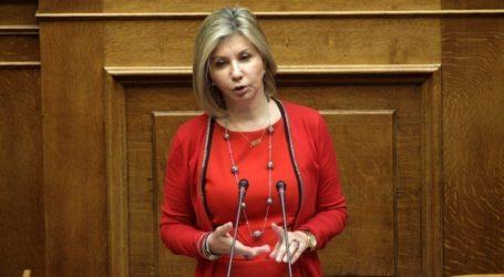 Ζέττα Μακρή: Σοβαρότητα, αποφασιστικότητα, λογική και ψυχραιμία χαρακτηρίζουν την κυβέρνηση της ΝΔ