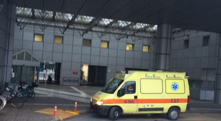 ΤΩΡΑ: Στο Νοσοκομείο Βόλου ηλικιωμένος μετά από πτώση στο κέντρο
