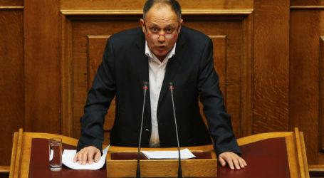 Καταγγέλει λογοκρισία από τον ΣΥΡΙΖΑ