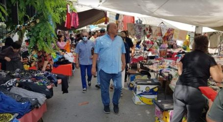Βόλος: Επεισόδιο στη λαϊκή αγορά – Αναστολή λειτουργίας μελετά ο Αχ. Μπέος