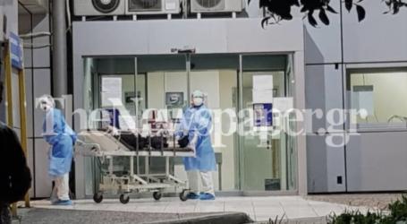 Κορωνοϊος: Σε θάλαμο αρνητικής πίεσης 60χρονος Βολιώτης
