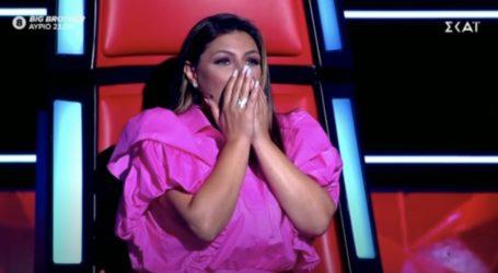 The Voice: Το σοκ της Παπαρίζου όταν είδε τον Βολιώτη διαγωνιζόμενο [βίντεο]