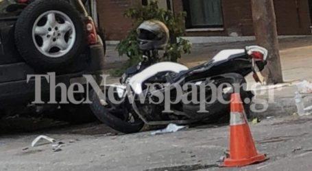 Σοβαρό τροχαίο ατύχημα σήμερα το πρωί στον Βόλο – Δείτε εικόνες