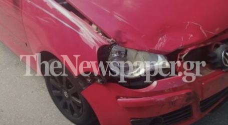 Σοβαρό τροχαίο ατύχημα στον Βόλο – Τραυματίστηκε οδηγός delivery [εικόνες]