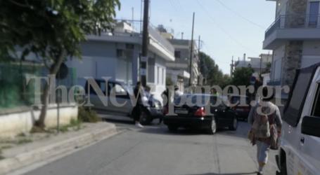 Τροχαίο ατύχημα στη Νέα Ιωνία – Σύγκρουση δύο ΙΧ [εικόνες]