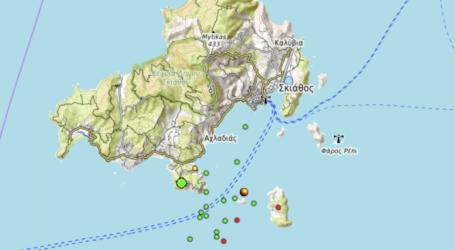 Σκιάθος: 21 σεισμοί σε ένα 24ωρο