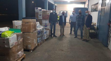 Τρόφιμα και είδη πρώτης ανάγκης παρέδωσε η Περιφέρεια Θεσσαλίας στους πλημμυροπαθείς των Δήμων της Καρδίτσας