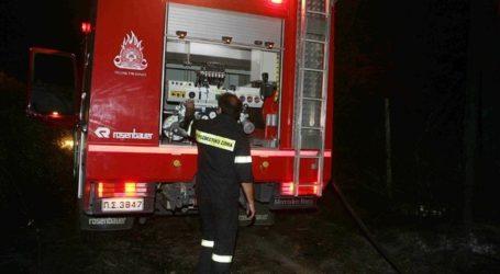 Βόλος: Πλημμύρισαν έντεκα υπόγεια από τη βροχή – Επιχειρήσεις της Πυροσβεστικής
