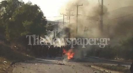 Βόλος: Φωτιά σε κάδους έβαλαν τσιγγάνοι για τη δολοφονία 18χρονου