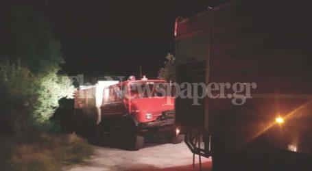 Φωτιά σε σπίτι στη Χρυσή Ακτή Παναγιάς [εικόνες]