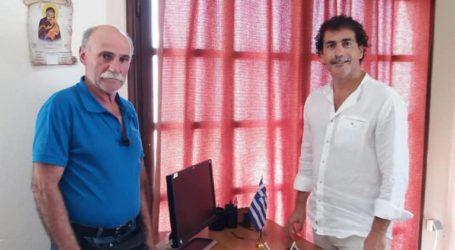 Κοπάνας: Ενημερώθηκε για προβλήματα σε Αγ. Λαυρέντιο και Άνω Βόλο