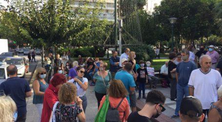 Βόλος: Ένταση στη συγκέντρωση για τη Χρυσή Αυγή μεταξύ ΣΥΡΙΖΑ και ΚΚΕ [εικόνες και βίντεο]