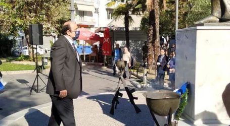 Στην Κατερίνη εκπροσωπώντας την Κυβέρνηση ο Τριαντόπουλος