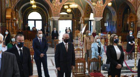 28η Οκτωβρίου: Δοξολογία στον Άγιο Αχίλλιο παρουσία πολιτικών και στρατιωτικών αρχών (φωτο)