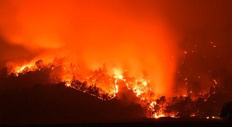 Δύο περιφέρειες σε «κατάσταση καταστροφής» εξαιτίας δασικών πυρκαγιών