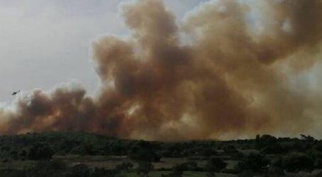 Μεγάλη φωτιά στις Βολίμες Ζακύνθου