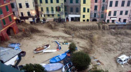 Πέντε νεκροί στις ακτές και την ενδοχώρα της Λιγουρίας λόγω των κατακλυσμιαίων βροχών