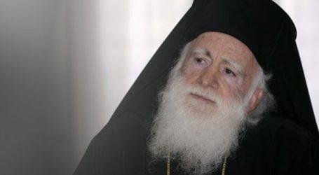 Ο Αρχιεπίσκοπος Κρήτης ανέβασε πυρετό και παραμένει στη ΜΕΘ