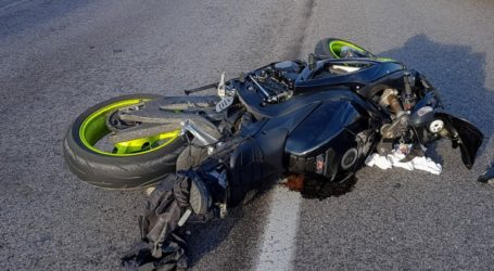 Νεκρός μοτοσικλετιστής έπειτα από σύγκρουση