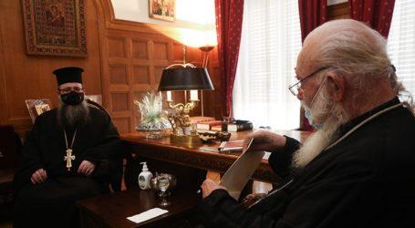 Συναντήσεις του Αρχιεπισκόπου Ιερωνύμου με τον νέο Έξαρχο του Παναγίου Τάφου και με τον βουλευτή της ΝΔ Άγγελο Συρίγο
