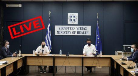 Στις 18.00 η ενημέρωση για τον κορωνοϊό από τον καθηγητή Γκίκα Μαγιορκίνη και τον Νίκο Χαρδαλιά