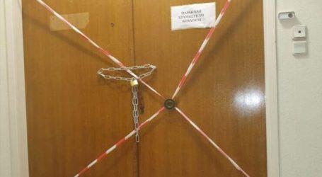 Σφραγίστηκαν τα γραφεία της παράταξης του Ηλία Κασιδιάρη στον Δήμο Αθηναίων
