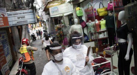 729 θάνατοι και 27.750 κρούσματα το τελευταίο 24ωρο στη Βραζιλία