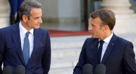 Ο Μητσοτάκης ευχαρίστησε τον Μακρόν σε συνέντευξή του στη «Le Figaro»