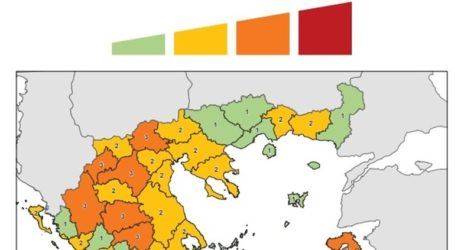 Από τη Δευτέρα σε ισχύ ο Χάρτης του κορωνοϊού