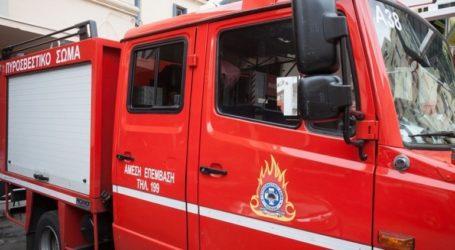 Φωτιά σε όχημα στην επαρχιακή οδό Ηρακλείου Σκαλανίου