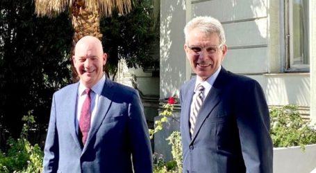 Ο βοηθός υπουργού Εξωτερικών των ΗΠΑ επισκέφτηκε το Πεντάγωνο