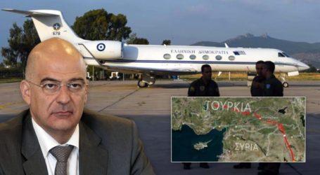 Προβοκάτσια των Τούρκων με το αεροσκάφος που μετέφερε τον Ν. Δένδια