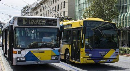 Καθυστερήσεις σε δρομολόγια λεωφορείων και τρόλεϊ