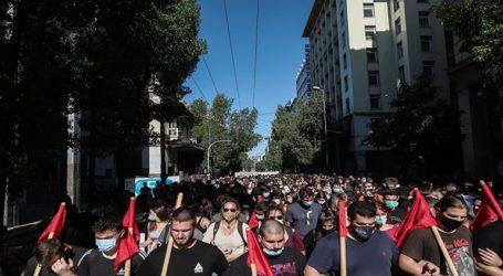 Ολοκληρώθηκαν τα συλλαλητήρια στο κέντρο της Αθήνας