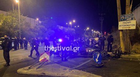 Θεσσαλονίκη: Επεισοδιακή καταδίωξη κλεμμένου οχήματος