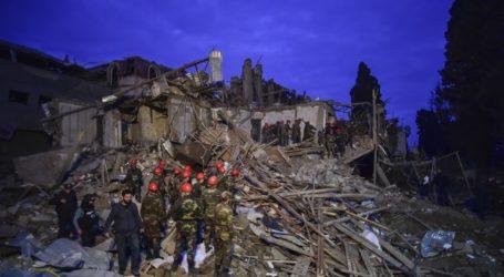 Αζερμπαϊτζάν: Τουλάχιστον 12 νεκροί από το πυραυλικό πλήγμα στη Γκαντσά