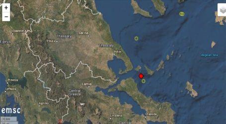 Σεισμός 3,8 Ρίχτερ ταρακούνησε τη Σκιάθο