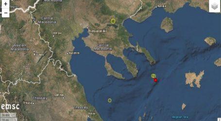 Σεισμός 3,2 Ρίχτερ σε θαλάσσια περιοχή της Χαλκιδικής