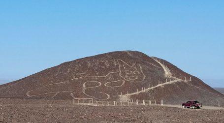 Γιγαντιαία γάτα 2.200 ετών χαραγμένη σε λόφο του Περού