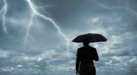 Έρχονται βροχές, καταιγίδες και χαλάζι