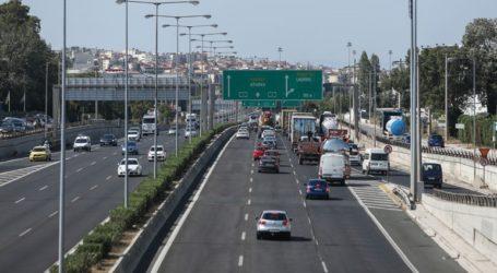 Αποκαταστάθηκε η κίνηση στην Εθνική Οδό Αθηνών-Λαμίας