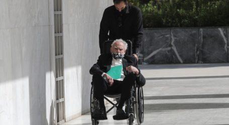 Στην Εισαγγελία του Αρείου Πάγου ο Άκης Τσοχατζόπουλος