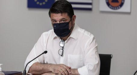 Έκκληση Χαρδαλία στους κατοίκους των Ιωαννίνων, της Θεσσαλονίκης και της Καστοριάς, να παραμείνουν σε εγρήγορση