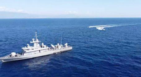 Τα πολεμικά πλοία «ασπίδα» στο Καστελόριζο
