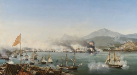 Tweet του ρωσικού ΥΠΕΞ για τη «Ναυμαχία στο Ναυαρίνο» και τη βύθιση του οθωμανικού στόλου