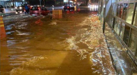 Προβλήματα στα Χανιά από τις βροχοπτώσεις
